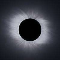 korona2009 Sonnenkorona Stack aus 6 Bildern kurz nach dem 2ten Kontakt