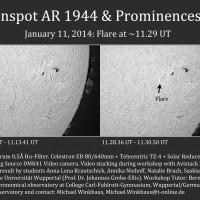 2014-01-11 AR 1944 H-alpha