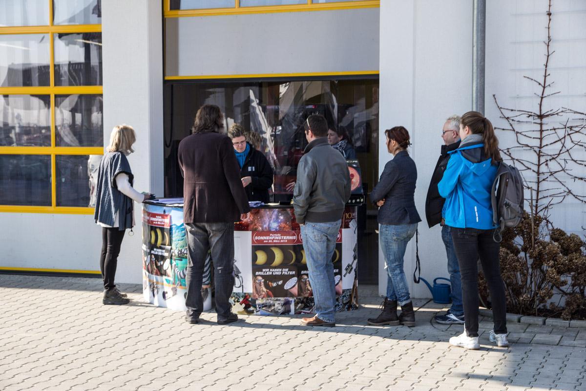 Partielle sonnenfinsternis baader planetarium for Lagerverkauf frankfurt