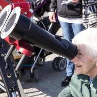 You can enjoy solar observation at every age!