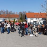 Team Baader Planetarium beim betrachten der partiellen Phase
